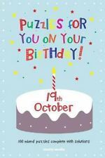 Puzzles for You on Your Birthday - 19th October by Clarity Media (2014,...