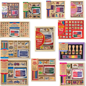 Stamp School Sets Kids Role Play Children Learning Toys - Melissa & Doug