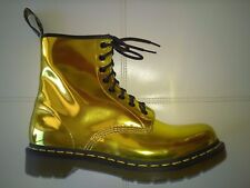DOC DR MARTENS HOT GOLD KORAM FLASH SHINY METALLIC BOOTS RARE VINTAGE UNISEX 7UK