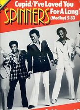 SPINNERS cupid / i've loved you for a long time ( medley) 12INCH 33 RPM  HOLLAND