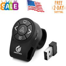 Wireless Presenter Rf 2.4Ghz Presentation Laser Pointer Finger Ring Remote