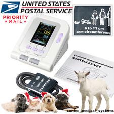 Vet/Pet Digital Color Veterinary Blood Pressure Monitor 6-11CM Leg BP cuff, USA