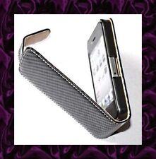★★★ Housse Qualité EFFET CARBONE NOIR Pour iPhone 4G et 4S ★★★