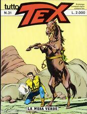 TUTTO TEX N° 31 -  1988 - BONELLI -  CONDIZIONI OTTIME EDICOLA