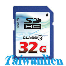 OEM 32GB 32G Class 10 SD SDHC Flash Memory Card HD Video Extreme Ultra Fast