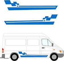 98 - Van Aménagé Graphique, Camping-car Vinyle Kit Décoration / Autocollants