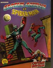 ALBUM RELIE CAPTAIN AMERICA ET SPIDERMAN ET CAPTAIN BRITAIN ISBN: 2-7346- 0150-8