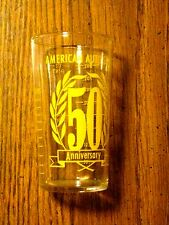 VINTAGE AMERICAN AUTO STORES PROMO MEASURING GLASS ADVERTISING USA VEHICLE PARTS