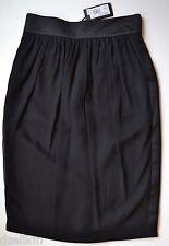 NWT $1,345 Giorgio Armani Italy Silk Tuxedo Skirt Size 40(IT)