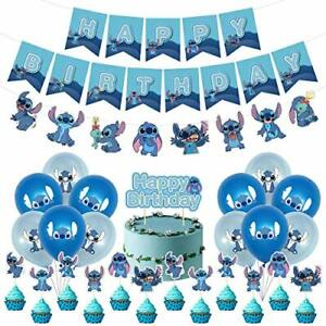 Birthday Party Supplies For Lilo 1 and Stitch 1 Party Decor  Banner Balloons
