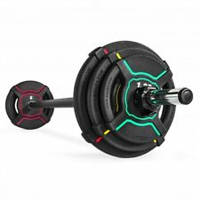 Gipara Fitness High Quality Langhantel Set Body Pump Set Polyurethan Gewichte