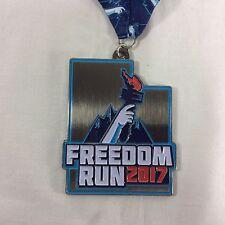 Provo Utah Freedom Run 2017 Medal 10K 5K Half Marathon Award Utah Medallion Race