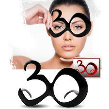 Gafas bromista para cumpleaños con número 30