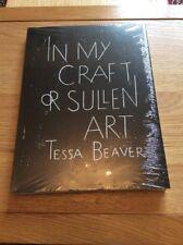 In My Craft or Sullen Art, Tessa Beaver, Simon Kirby, New Book
