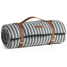 VonShef Extra Large Picnic Blanket Waterproof Mat Outdoor Camping Beach Striped