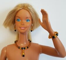 "Citrine DOLL JEWELRY for 18"" SUPERSIZE BARBIE & similar sized dolls - NO DOLL"