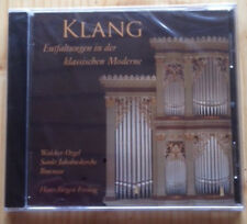 KLANG Entfaltungen in der klassischen Moderne - Hans-Jürgen Freitag (Orgel), CD