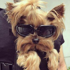 PETLESO Dog Goggles Dog Sunglasses Eye Protection Windproof Anti-UV...