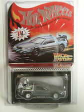 Hot Wheels RLC Back To The Future Time Machine DeLorean Limited 3300 BTTF