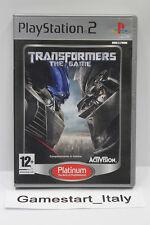 TRANSFORMERS THE GAME (PS2) - VIDEOGIOCO USATO PERFETTAMENTE FUNZIONANTE - PAL