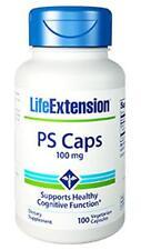 Life Extension Phosphatidylserine (PS) Caps 100 mg caps