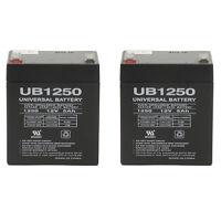 UPG 2 Pack - 12V 5AH SLA Replacement Battery for BELKIN F6H375 USB UPS