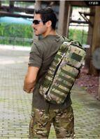 Tactical MOLLE Assault Go Bag Shoulder Sling Military Gym Hiking Camper Backpack