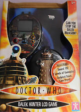 NEW doctor who DALEK HUNTER LCD GAME character options