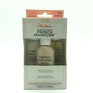Sally -  Hard As Nails -  French Manicure - Nearly Nude 45144