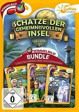 Treasures of Mystery Island 1-3 Sunrise Games PC Spiel Wimmelbild Neu & OVP