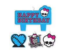 Monster High Mini Molded Cake Candles