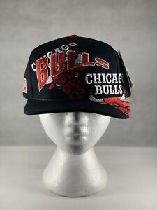 Chicago Bulls Vintage 90's Drew Pearson Snapback NWT!!