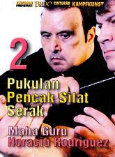 Pukulan Pencak Silat Serak Vol.2 DVD by Maha Guru Horacio Rodriguez