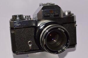 ZEISS IKON - ICAREX 35CS Carl Zeiss Ultron 1:1,8 / 50mm - von Sammler !!!
