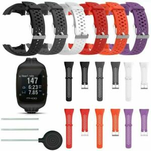 Für Polar M400 M430 Smart Watch Ersatz Silikon Armband Strap Wrist Band Bracelet