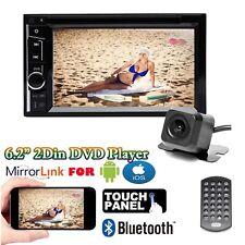 Double Din Car Vedio Stereo DVD CD MP3 AM FM Player In Dash Bluetooth HD 1080P