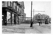 pt1152 - Tram Terminus , Eccleshill , Yorkshire - photo 6x4