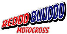 RED BUD Motocross Sticker Decal, Dirt bike, Trailer Decal Truck windows Laptops