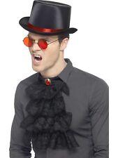 Gótico Kit Hombre Vampiro Drácula Disfraz de Halloween Kit de accesorios