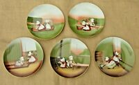 Vintage Royal Bayreuth Sun Bonnet Babies Days of the Week Plates
