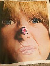 PATTIE BOYD Hayley Mills PJ O'Rourke UK Times Magazine October 2016 NEW