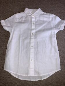 NEXT white smart shirt boys age 4