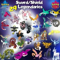 Crown Tundra 29-Pack LEGENDARY SHINY BUNDLE | Good Items | Pokémon Sword Shield