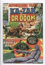 Astonishing Tales Lot of 10 1 7 12 14 15 16 18 19 20 20 Kazar Dr. Doom 1970