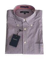 Gant 304480 Camicia Rigata in Cotone Uomo tg M Regular  | -50 % OCCASIONE |