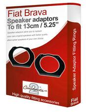 """Fiat Brava speaker adapter pods Front Door 13cm 5.25"""" fitting rings adaptors"""