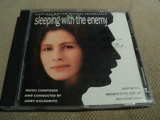 """CD BOF """"SLEEPING WITH THE ENEMY (Les nuits avec mon ennemi)"""" Jerry GOLDSMITH"""