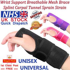 LTG PRO® Wrist Support Mesh Breathable Brace Splint Carpal Tunnel Strain Sprain