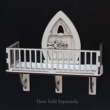 FAIRY BALCONY Fairy Door Accessory Wooden Craft Kit easy assemble
