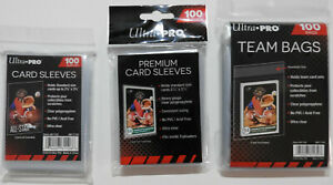 ULTRA PRO TRADING CARD PROTECTION - SLEEVES / TEAM BAGS - FREE UK P&P